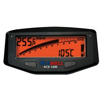 Ace 1600 Digital Dash With Remote