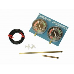 Carburettor Gauge Balancer 2 Cylinder Set