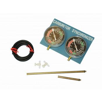 Carburettor Gauge Balancer 2 Cylinder Set