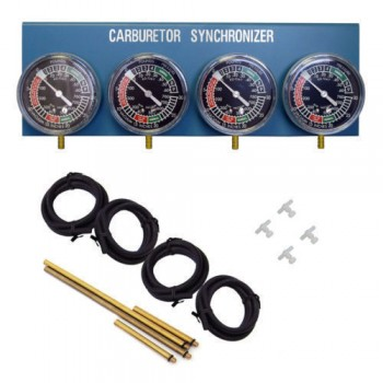 Carburettor Gauge Balancer 2/3/4 Cylinder Set