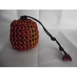 Harry Potter Gryffindor Themed Large Chainmaille Dice Bag