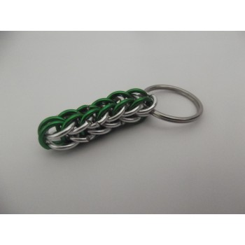 Harry Potter Slytherin Aluminium Chainmaille Key Ring