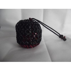 Marvel's Black Widow Themed Large Chainmaille Dice Bag