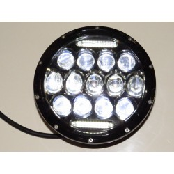 "7"" LED Headlight Spider Eye With DRL - Pair"