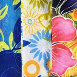 3 Pack Headtubes - Floral