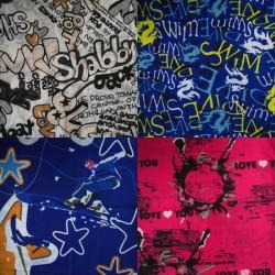 4 Pack Headtubes - Graffiti & Sport