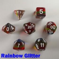 Aurora Gem Rainbow Glitter