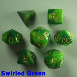 Bescon Gemini Swirled Green
