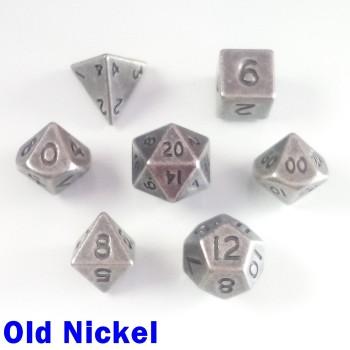 Bescon Miniature Metal Old Nickel