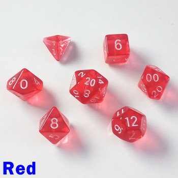 Bescon Miniature Translucent Red