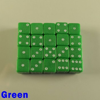 7mm D6 Green