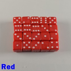 7mm D6 Red
