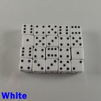 7mm D6 White