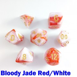 Elemental Bloody Jade Red/White