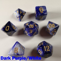 Elemental Dark Purple/White