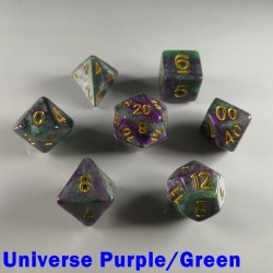 Galaxy Universe Purple/Green