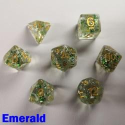 Glitter Flakes Emerald