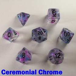 Iridescent Glitter Ceremonial Chrome