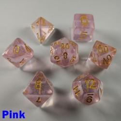 Iridescent Glitter Pink
