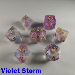 Iridescent Glitter Violet Storm
