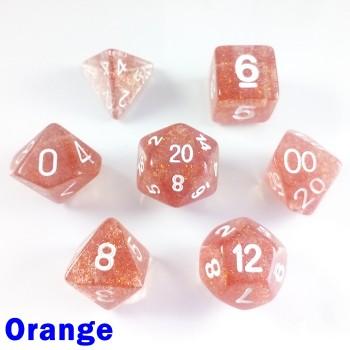 Glitter Orange