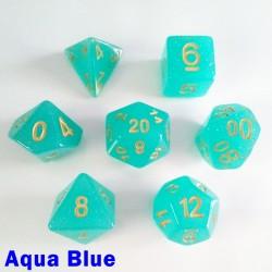 Translucent Glitter Aqua Blue