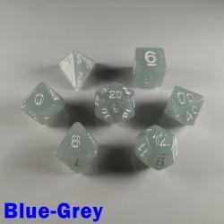 Translucent Glitter Blue-Grey