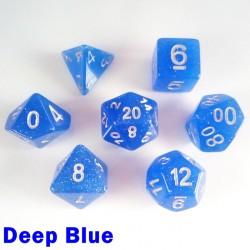 Translucent Glitter Deep Blue