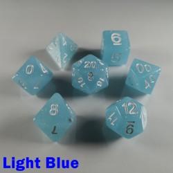 Translucent Glitter Light Blue