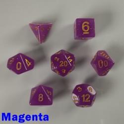 Translucent Glitter Magenta