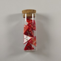 Marble Red Potion of Superior Healing for 5e D&D (Engraved)