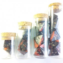 Oblivion Red Full Set of Healing Potions for 5e D&D (Engraved)