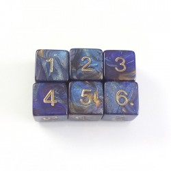 Magma Blue D6 Set
