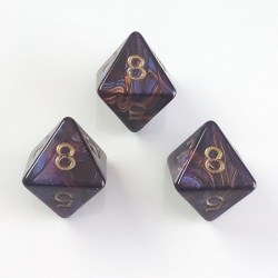 Magma Purple D8 Set