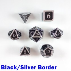 Bordered Black/Silver
