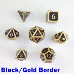 Bordered Black/Gold