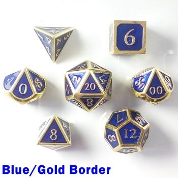 Bordered Blue/Gold