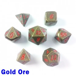 Stone Effect Gold Ore