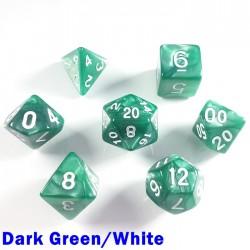 Pearl Dark Green/White