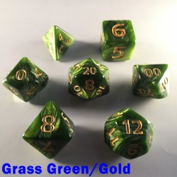 Giant Pearl Grass Green/Gold