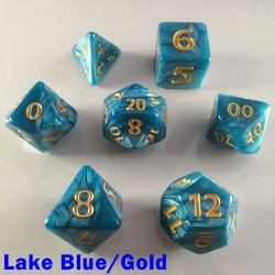 Giant Pearl Lake Blue/Gold