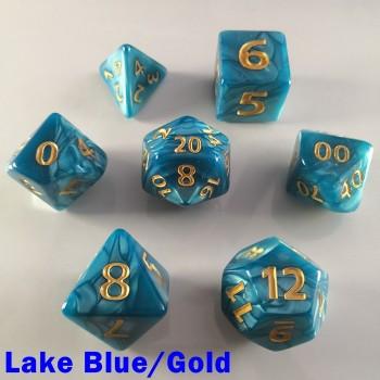 Giant Pearl Lake Blue/Gold