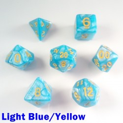 Pearl Light Blue/Yellow