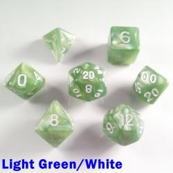 Pearl Light Green/White