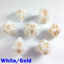 Pearl White/Gold