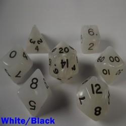 Pearl White/Black
