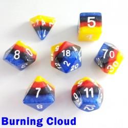 Rainbow Burning Cloud
