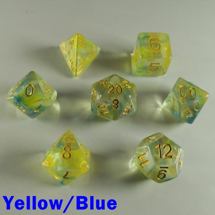 Storm Swirl Yellow/Blue