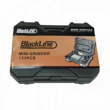 Blackline Mini Rotary Tool with 131 Piece Full Accessory Kit