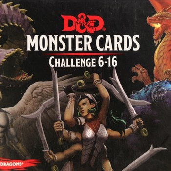 Monster Cards Challenge 6-16